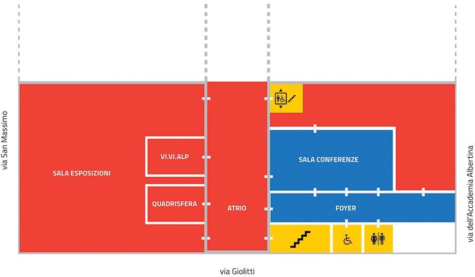 Piano interrato museo regionale di scienze naturali for Progettista del piano interrato